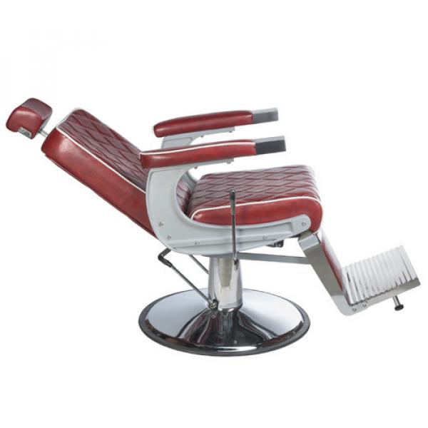 Fotel Barberski LUMBER BH-31825 Burgund LUX #4