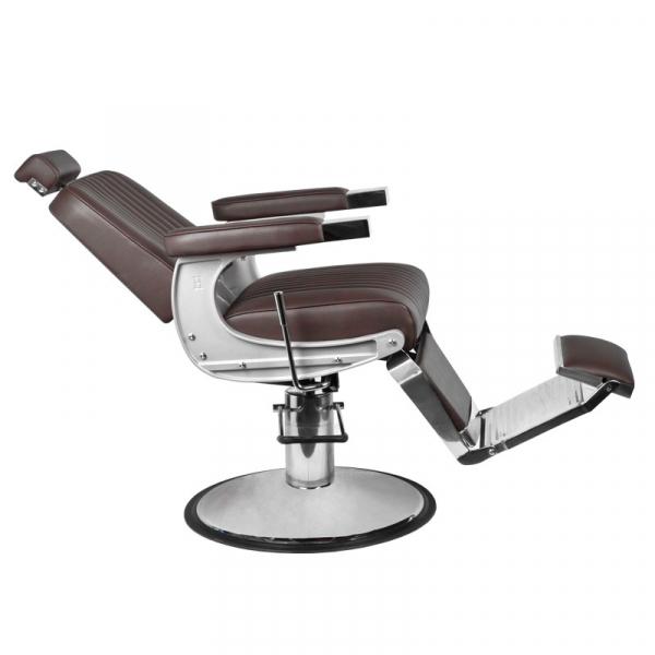 Gabbiano Fotel Barberski Continental Brązowy #2