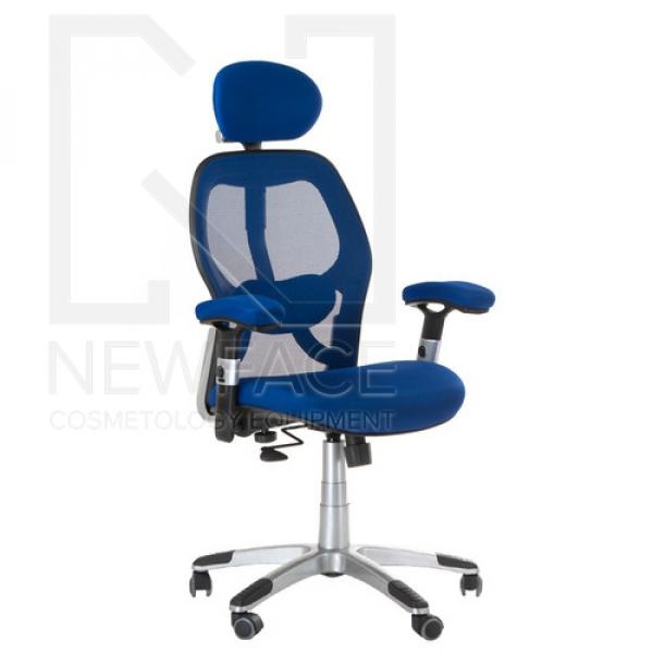 Fotel ergonomiczny CorpoComfort BX-4144 Niebieski #1