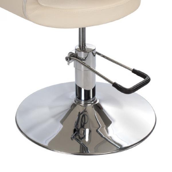 Fotel Fryzjerski Paolo BH-8821 Kremowy #4