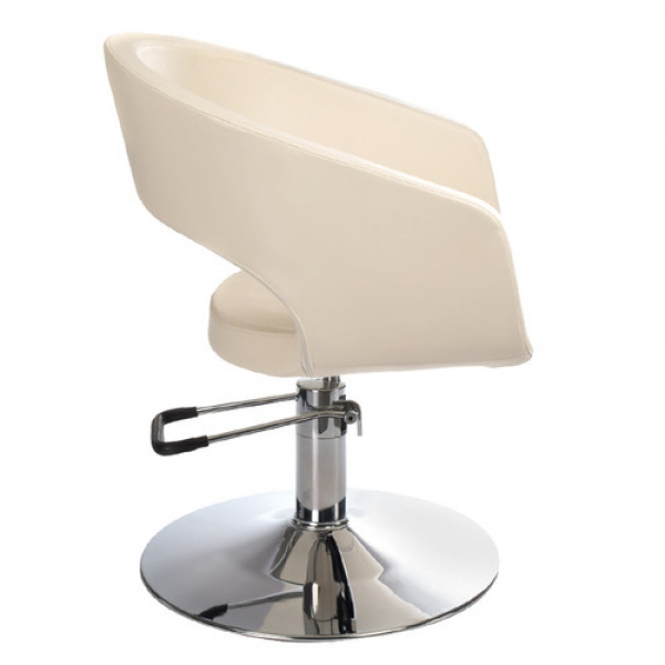 Fotel Fryzjerski Paolo BH-8821 Kremowy #5