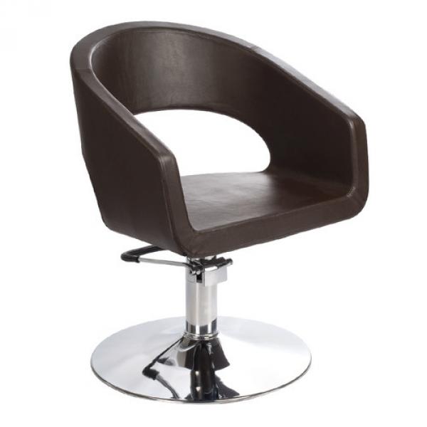 Fotel Fryzjerski Paolo BH-8821 Brązowy #4