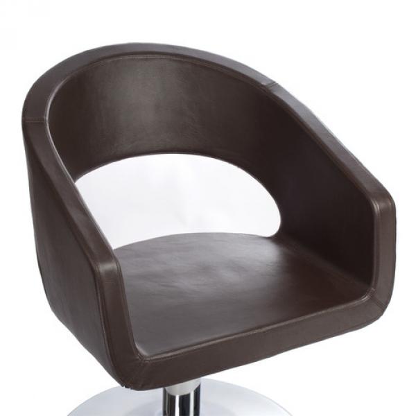 Fotel Fryzjerski Paolo BH-8821 Brązowy #5