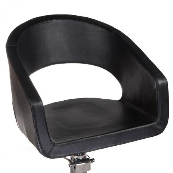 Fotel Fryzjerski Paolo BH-8821 Czarny #2