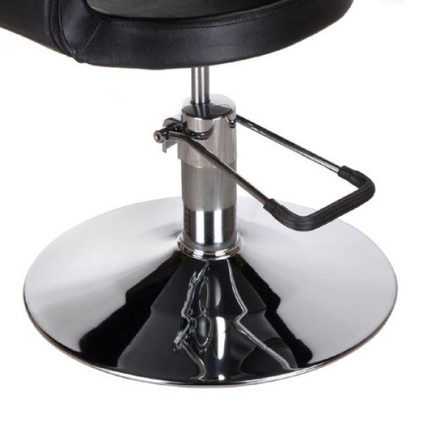 Fotel Fryzjerski Paolo BH-8821 Czarny #3