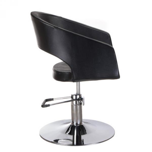 Fotel Fryzjerski Paolo BH-8821 Czarny #5