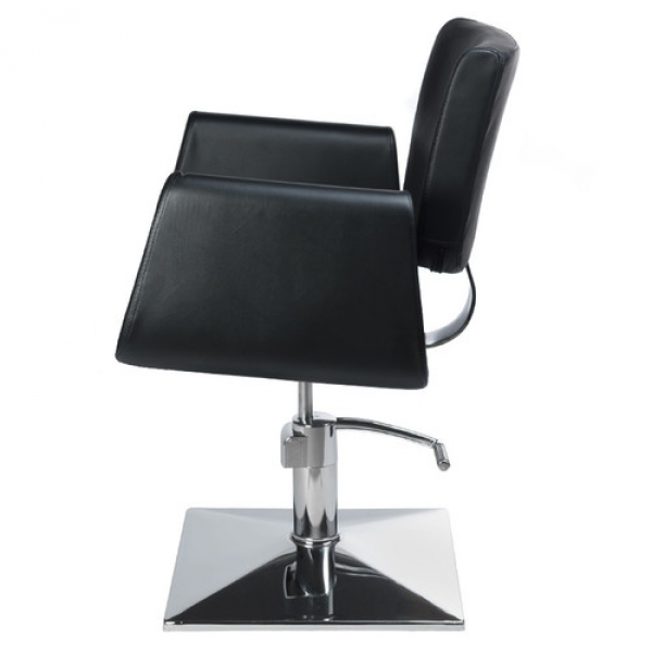 Fotel Fryzjerski Vito BH-8802 Czarny #4
