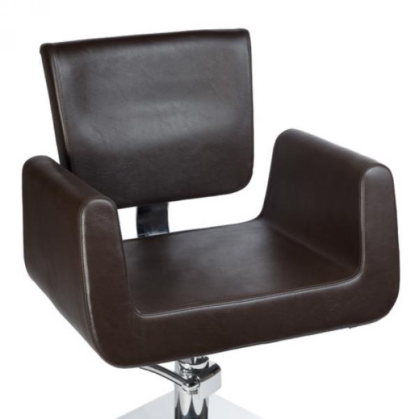 Fotel Fryzjerski Vito BH-8802 Brązowy #4