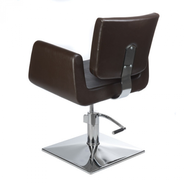 Fotel Fryzjerski Vito BH-8802 Brązowy #5
