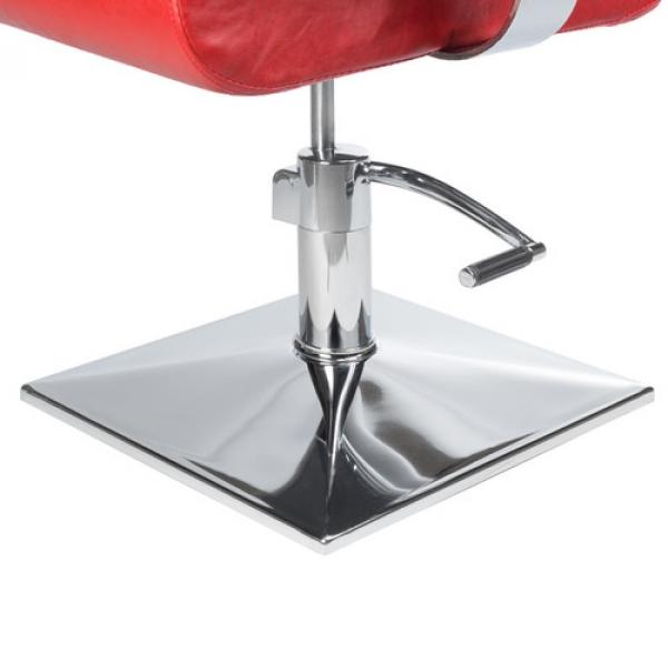 Fotel Fryzjerski Vito BH-8802 Czerwony #4