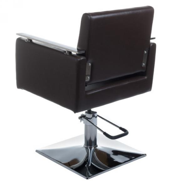 Fotel Fryzjerski MILO BH-6333 Brązowy #2