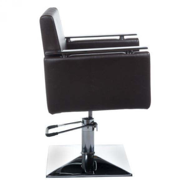 Fotel Fryzjerski MILO BH-6333 Brązowy #4