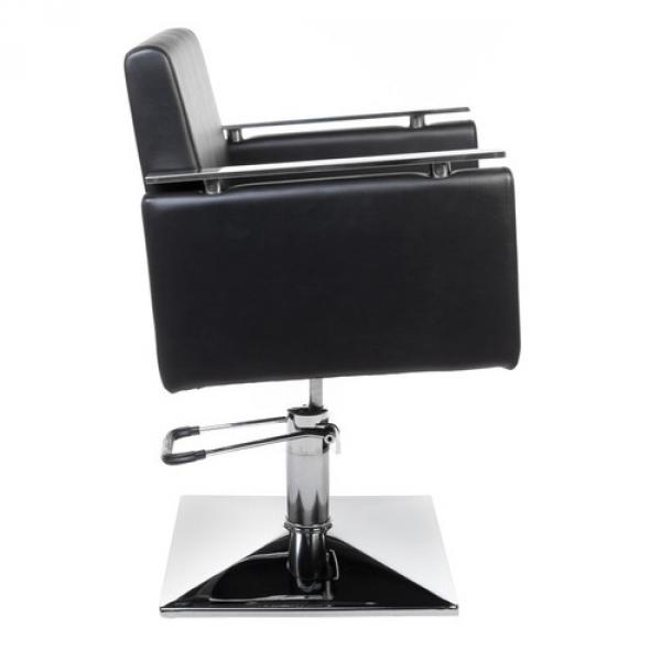 Fotel fryzjerski MILO BH-6333 czarny #4