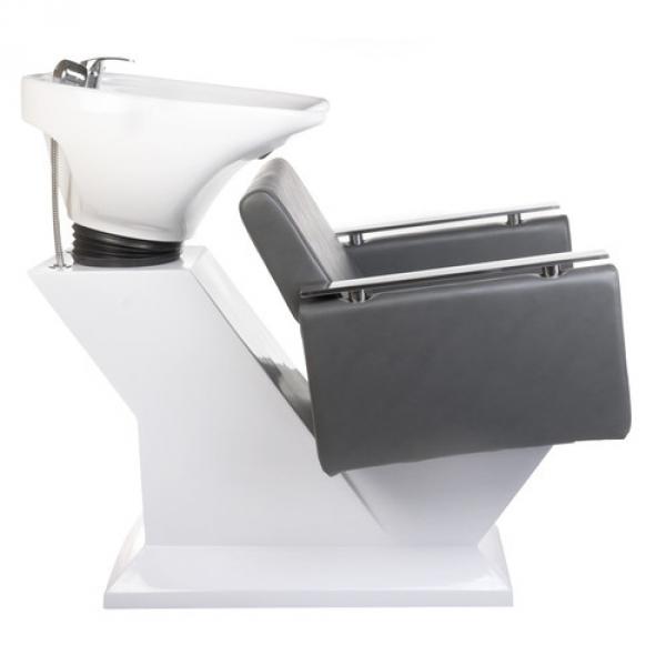 Myjnia fryzjerska MILO BH-8025 szara #4