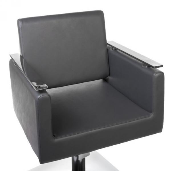 Fotel fryzjerski MILO BH-6333 szary #5