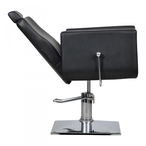 Fotel Fryzjerski Bell Bis Czarny #4