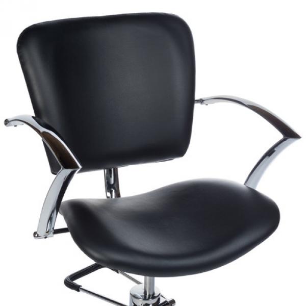 Fotel Fryzjerski Dario Czarny BH-6113 #2
