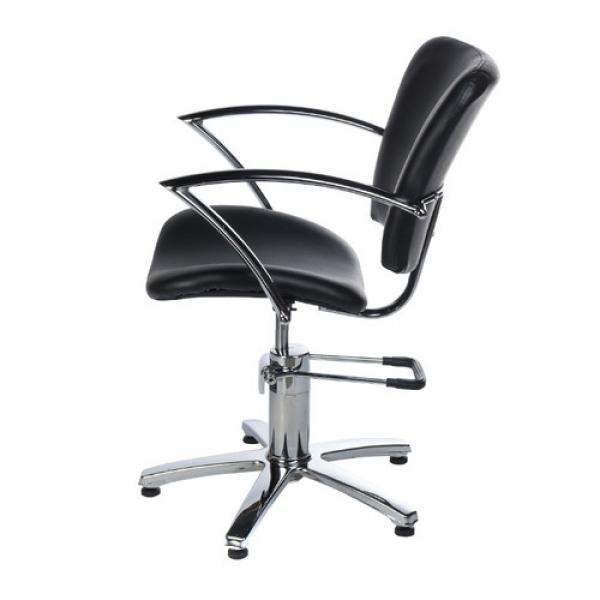 Fotel Fryzjerski Dario Czarny BH-6113 #5