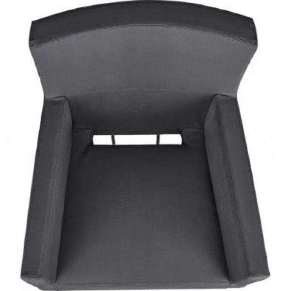 Fotel Fryzjerski Isadora Czarny Baza Kwadrat W 48h #5