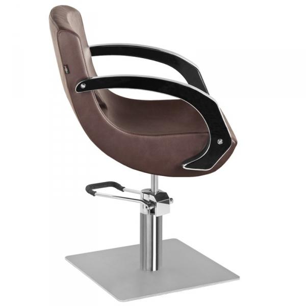 Gabbiano Fotel Fryzjerski Q-3111 Brązowy #2