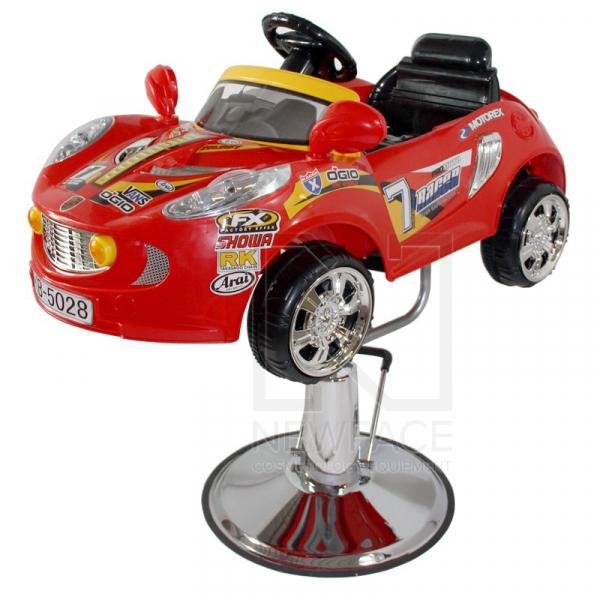 Fotel Fryzjerski Dziecięcy Samochodzik #1