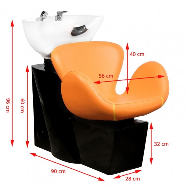 Gabbiano Myjnia Fryzjerska Amsterdam Pomarańczowa #2