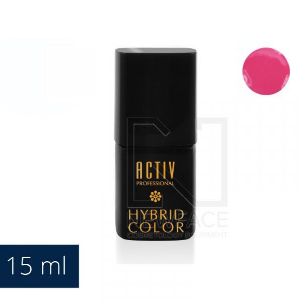 Lakier Hybryd 02 Hot Pink Malinowy Róż 15ml #1
