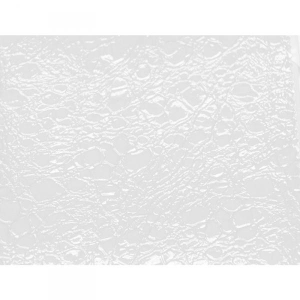 Gabbiano Fotel Fryzjerski Roma Biało-Pomarańczowy #4