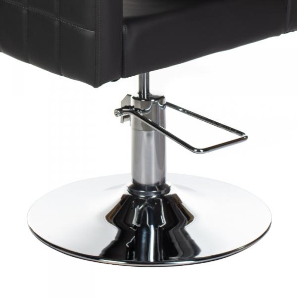 Fotel Fryzjerski Ernesto Czarny BM-6302 #3