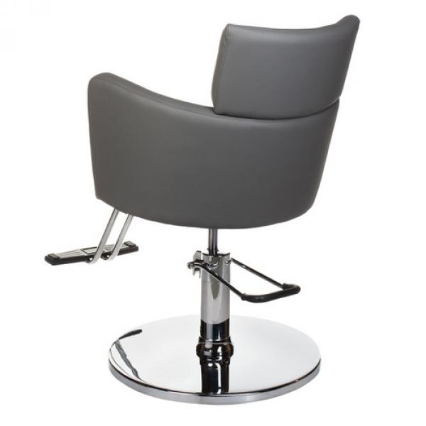 Fotel fryzjerski LUIGI BR-3927 szary #2