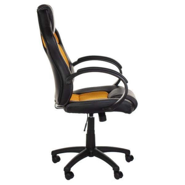 Fotel gamingowy Racer CorpoComfort BX-2052 Pomarań #2