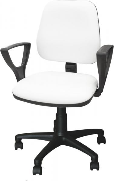 Krzesło kosmetyczne z podłokietnikami KB02 #1