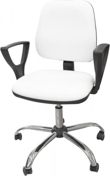 Krzesło kosmetyczne z podłokietnikami KC02 #1