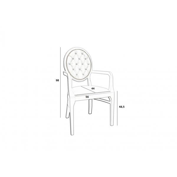 Krzesło Ludwik IV #3