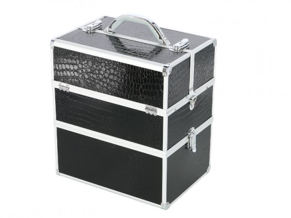 Kufer Kosmetyczny NS06A+ Black Croco #1
