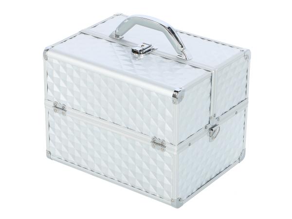 Kufer Kosmetyczny PB1201 Silver Diamond 3D #1