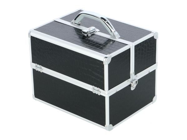 Kufer Kosmetyczny PB1201 Black Croco #1