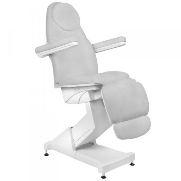Fotel kosmetyczny elektr. Basic 158 3 siln. Szary #1