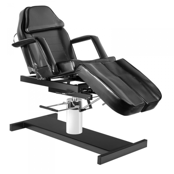 Fotel kosmetyczny hyd. A 210c pedi czarny #1
