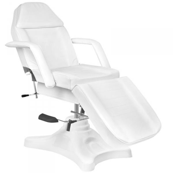Fotel kosmetyczny hyd. A 234 biały #1