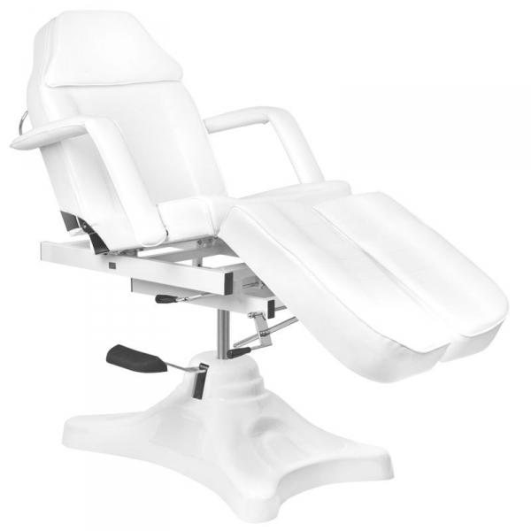Fotel kosmetyczny hyd. A 234c pedi biały #1