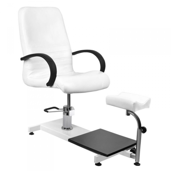 Fotel kosmetyczny hyd. Spa 100 pedi biały #1