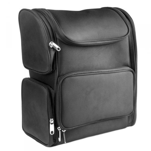 Plecak materiałowy look 0022 czarny #1