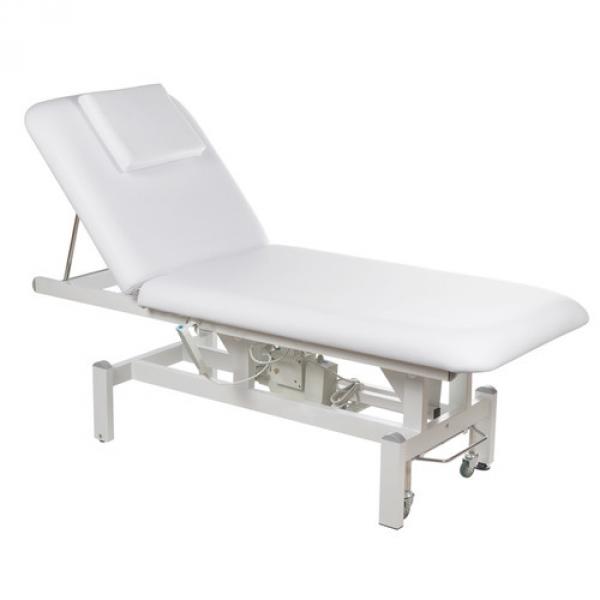 Elektryczny stół rehabilitacyjny BD-8230 biały #1