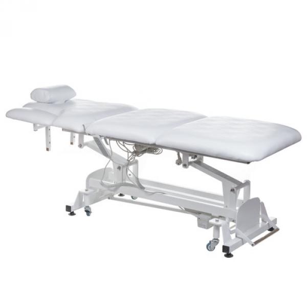 Elektryczny stół rehabilitacyjny BT-2120 biały #1