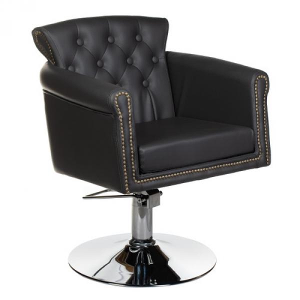 Fotel fryzjerski ALBERTO BH-8038 szary #1