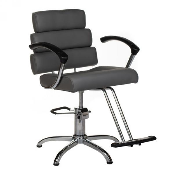 Fotel fryzjerski FIORE szary BR-3857 #1