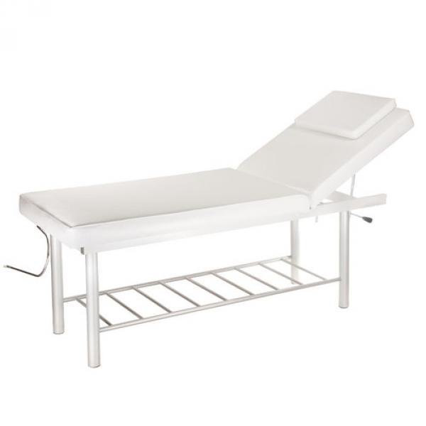 Stół do masażu i rehabilitacji BW-218 biały #1
