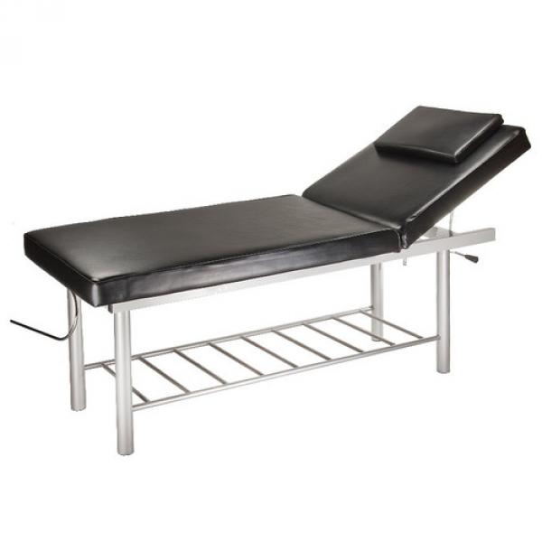 Stół do masażu i rehabilitacji BW-218 czarny #1