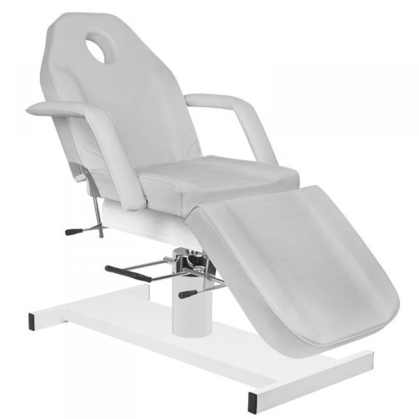 Fotel kosmetyczny hyd. A 210 szary #2